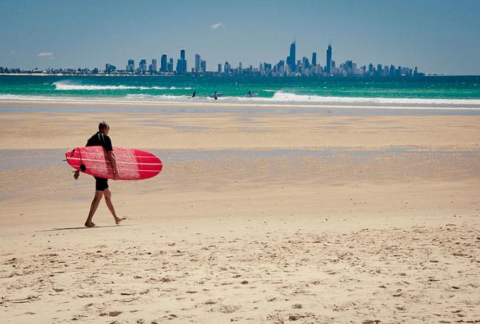 Currimbin Beach Gold Coast Australia