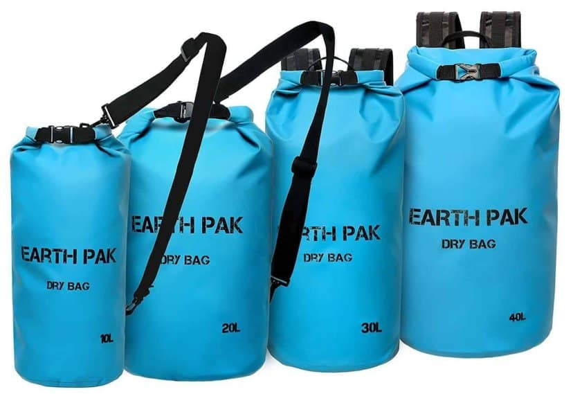 Earth Pak -Waterproof Dry Bag - Roll Top Dry Compression Sack