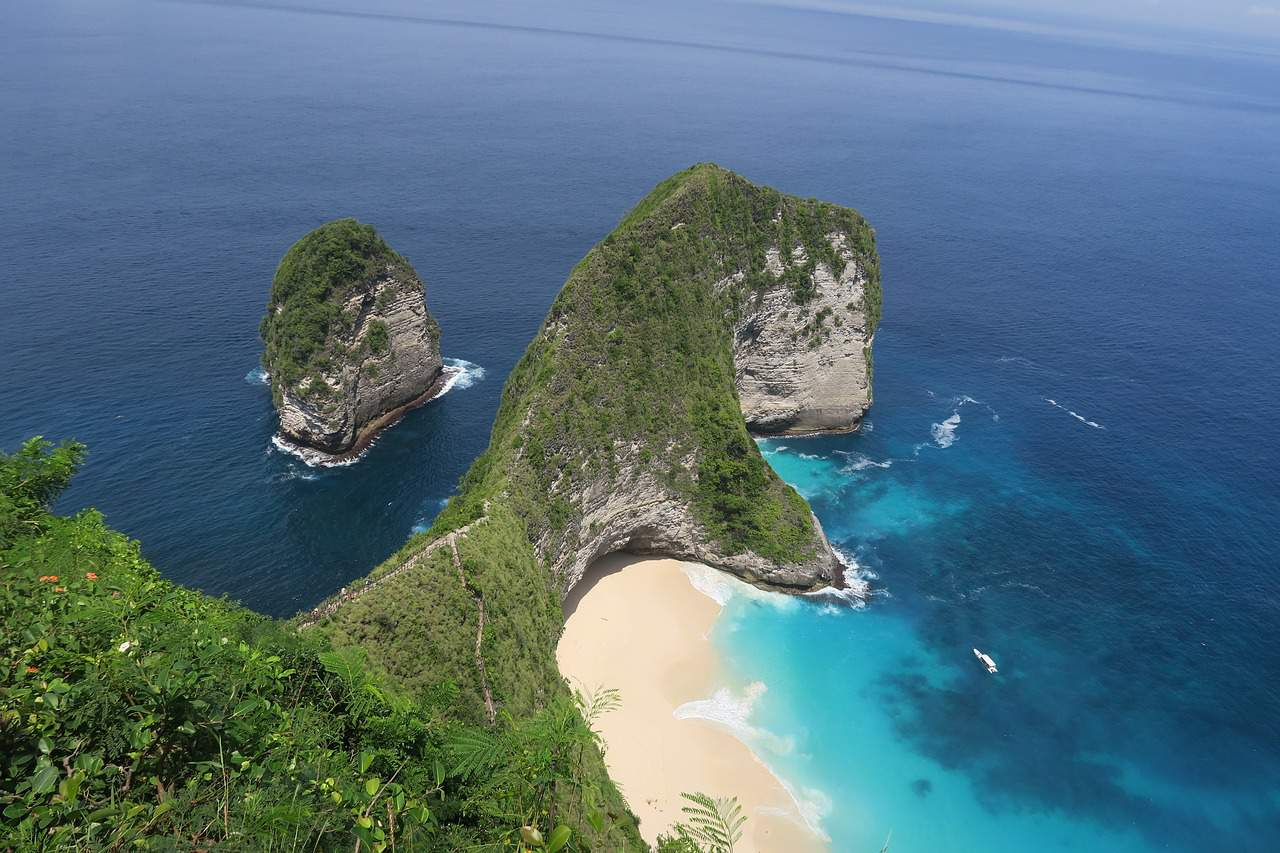 Nusa Penida is an island southeast of Indonesia's island of Bali