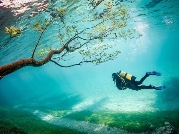 Scuba Green Lake