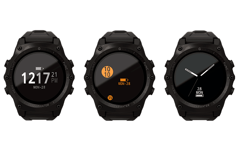 Teric Dive Computer - Watch Face Options