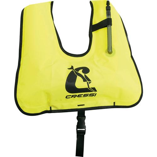 Cressi Snorkel Vest Yellow
