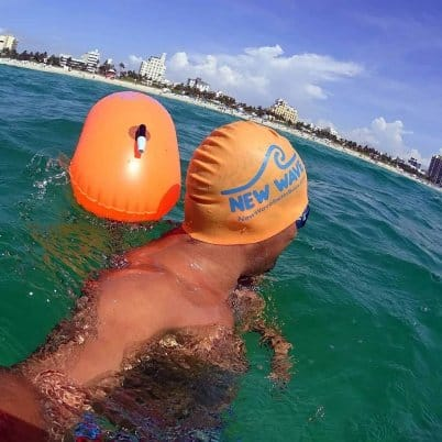 New Wave Swim Bubble for Open Water Swimmers and Snorkelers