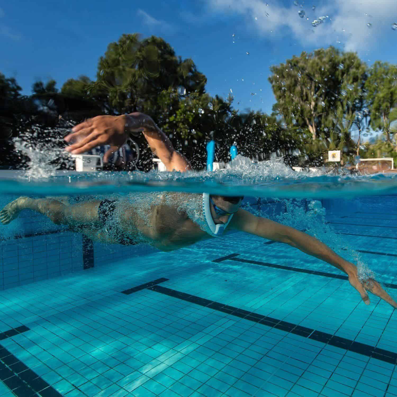 PowerBreather Snorkel - Swimming Laps