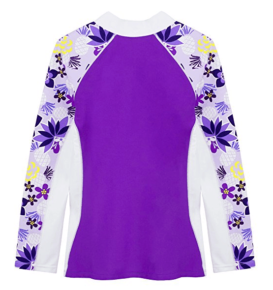 Long Sleeve Rash Guard for the Beach