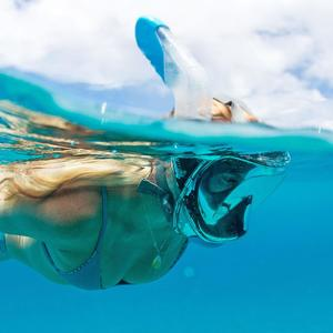Wildhorn Outfitters V2 Full Face Snorkel Mask in Action