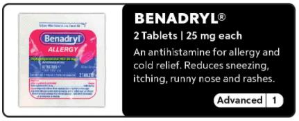 Benadryl 0-1