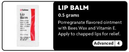 Lip Balm 0-4