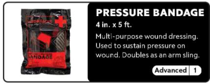 Pressure Bandage 0-1