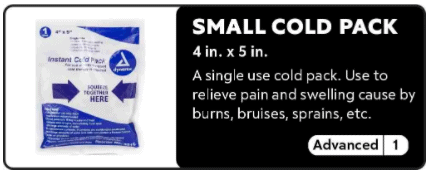 Small Cold Pack 0-1