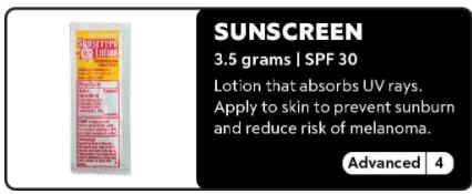 Sunscreen 0-4